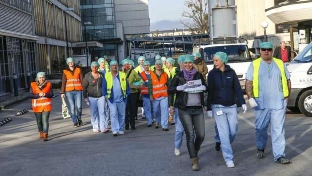 Ärzte-Streik (2015) auch in Salzburg (Bild: Markus Tschepp)