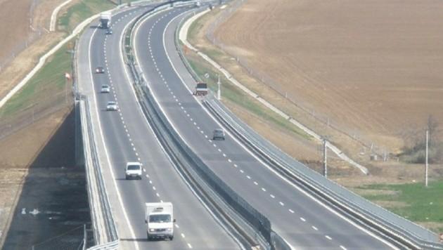 """Die ungarische Autobahn M60 (Bild: """"Krone"""")"""