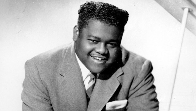 Fats Domino anno 1956 (Bild: AP (File))