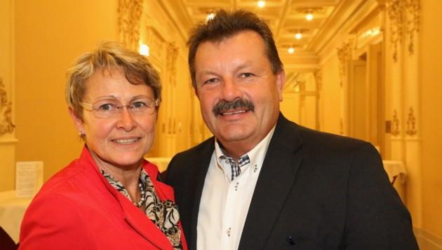 Das einst glückliche Ehepaar Maria und Gerhard Schopper (Bild: unbekannt)