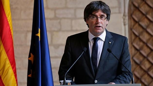 Carles Puigdemont (Bild: AP)
