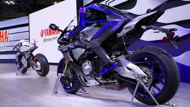 Yamaha Motobot (Bild: Stephan Schätzl)