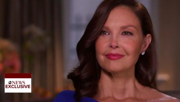Mit Tränen in den Augen berichtet Ashley Judd von Harvey Weinsteins Übergriffen. (Bild: www.PPS.at)