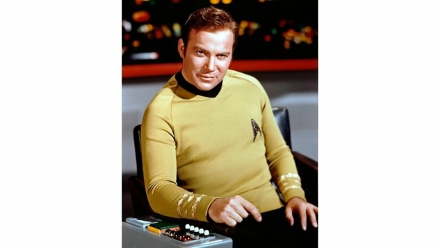 William Shatner in seiner Paraderolle des Captain Kirk (Bild: Hollywood Picture Press/face to)