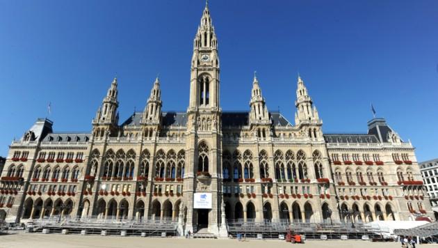 Das Wiener Rathaus (Bild: APA/HERBERT PFARRHOFER)