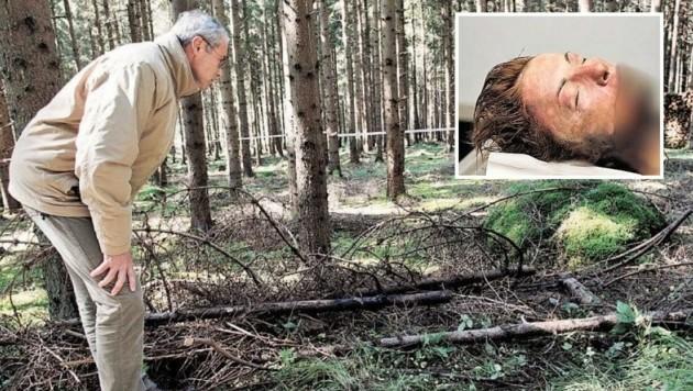Die verbrannte Leiche von Anna T. wurde 2008 im Völkermarkter Stadtwald gefunden. (Bild: Polizei)