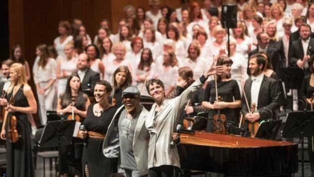 70 Jahre-Jubiläum der Salzburger Kulturvereinigung: das bejubelte Soul meets Classic-Konzert (Bild: Franz Neumayr)