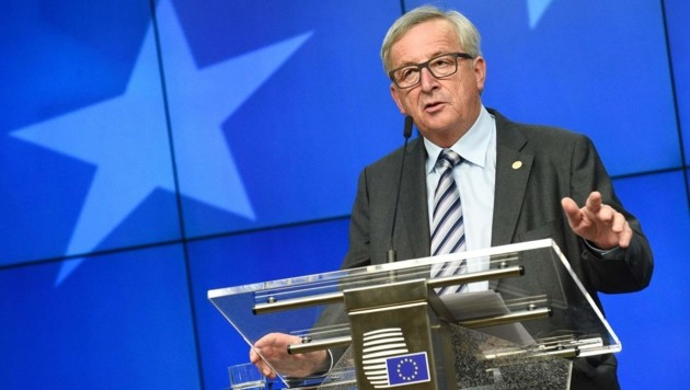 EU-Kommissionspräsident Jean-Claude Juncker (Bild: APA/AFP/JOHN THYS)