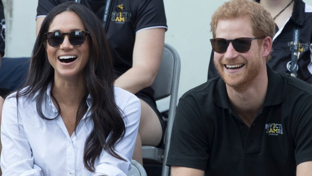 Meghan Markle und Prinz Harry (Bild: www.PPS.at)