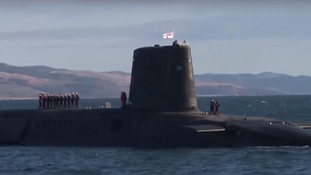 """Die Crew des Atom-U-Boots """"HMS Vigilant"""" sorgte für einen handfesten Drogen- und Sexskandal. (Bild: YouTube.com)"""