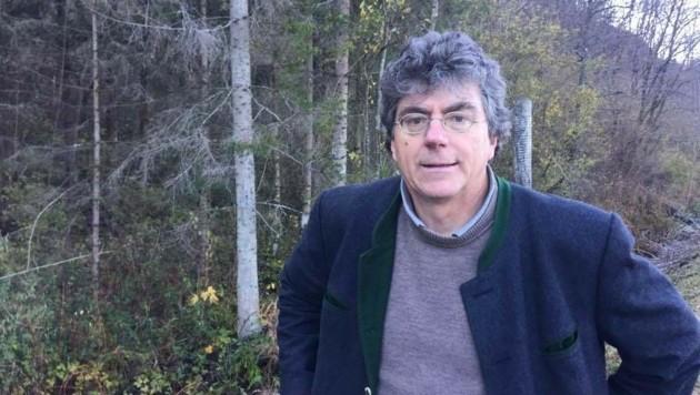 Wildbiologe Thomas Huber (Bild: Clara Milena Steiner)