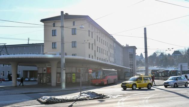 Aus dem alten Postverteilerzentrum am Bahnhof soll ein neuer Stadtteil werden. (Bild: Harald Dostal)