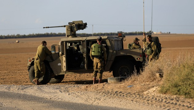 Soldaten der israelischen Armee (Bild: AP)