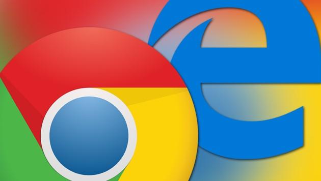 (Bild: Google, Microsoft, krone.at-Logo)