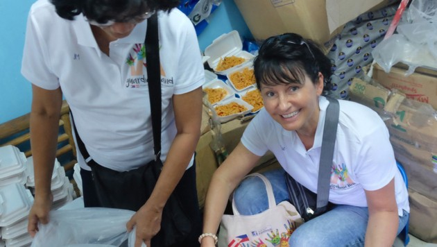 Ilse Schreiner-Kalleitner aus Vöcklabruck hilft mit ihrem Projekt den Kindern am Müllberg. (Bild: unbekannt)