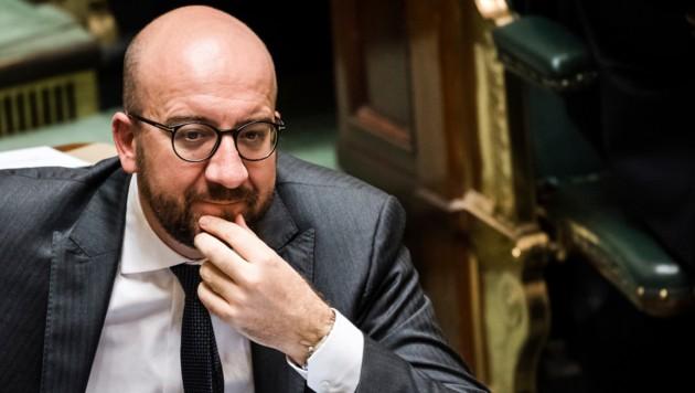 Belgiens Premier Charles Michel steht in der Katalonien-Krise hinter der Regierung in Madrid. (Bild: AP)