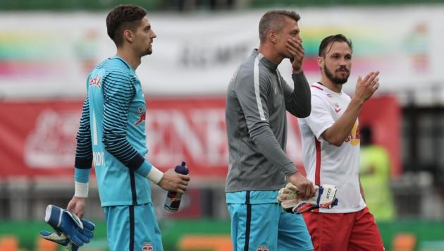 Stankovic (links), Walke (Mitte) (Bild: GEPA)