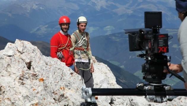 In Südtirol wurde Kammerlanders Werdegang nachgestellt
