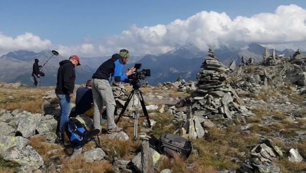 Dreharbeiten in Südtirol