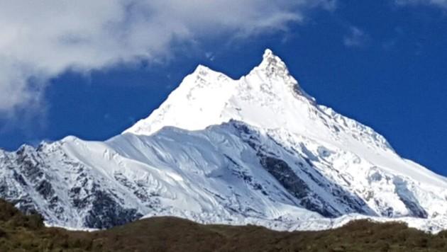 Der Manaslu, der achthöchste Berg der Welt