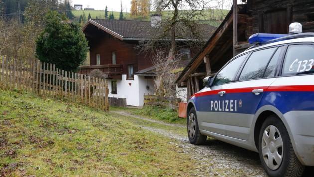 Tatort: Der Bauernhof im Bischofshofener Ortsteil Kreuzberg (Bild: Gerhard Schiel)