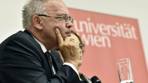Heinz W. Engl, Rektor der Universität Wien
