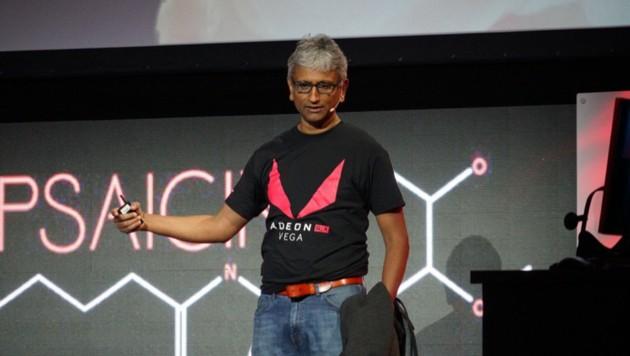Von AMD zu Intel gewechselt: Grafikchip-Spezialist Raja Koduri (Bild: twitter.com/Rajaontheedge)