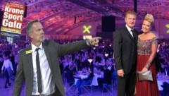 """""""Krone""""-Sport Gala in Linz am 25. November dabei: Dominik Thalhammer und Stefan Effenberg. (Bild: Markus Wenzel, Hans Punz/APA, Chris Koller)"""