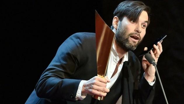 Nestory: Max Simonischek (Publikumspreis) (Bild: APA/HANS PUNZ)