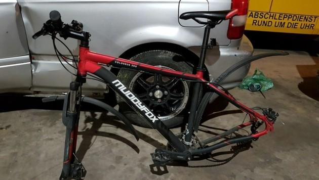 Wem wurde dieses Mountainbike gestohlen? Bitte bei der Polizei melden (Bild: Polizei)