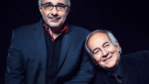 Michael Niavarani, Otto Schenk (Bild: ServusTV/Jan Frankl)