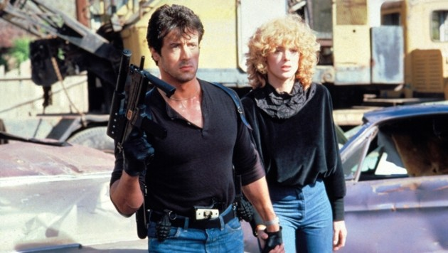 Sylvester Stallone und Brigitte Nielsen 1986 (Bild: Moviestore Collection/face to fa)
