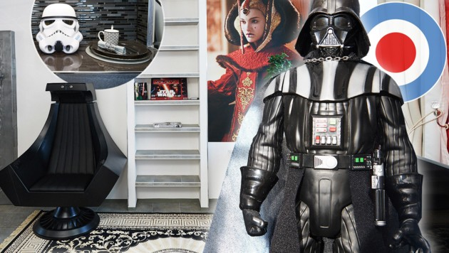 zu besuch in der wiener star wars wohnung city4u. Black Bedroom Furniture Sets. Home Design Ideas