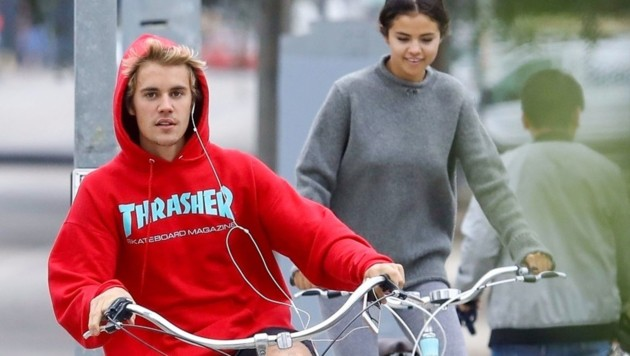 Justin Bieber und Selena Gomez bandeln wieder miteinander an. (Bild: www.PPS.at)