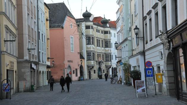 In der Linzer Altstadt gibt´s immer wieder Prügeleien (Bild: Horst Einöder)