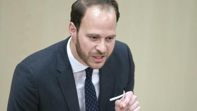 NEOS-Abgeordneter Nikolaus Scherak