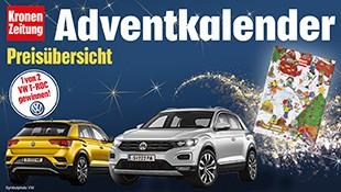 (Bild: Kronen Zeitung, krone.at, VW)