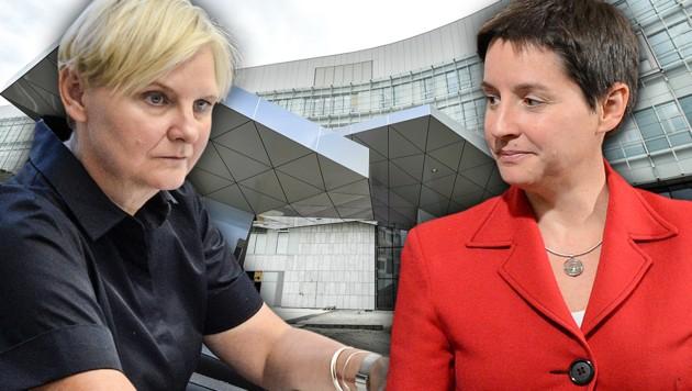 Sandra Frauenberger und Sonja Wehsely (r.) (Bild: APA, krone.at-Grafik)