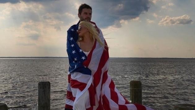 Matt Rutler und Christina Aguilera (Bild: www.PPS.at)