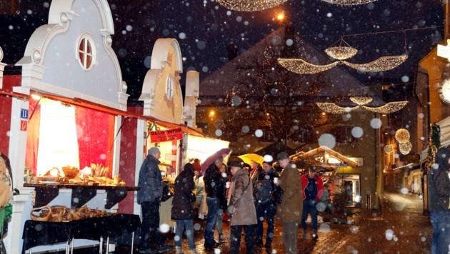 Villach bleibt festlich geschmückt, Adventmarkt gibt es heuer aber keinen.
