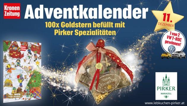 (Bild: Kronen Zeitung, VW, Pirker)