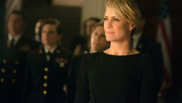 """Robin Wright als Clair Underwood in der SErie """"House of Cards"""""""