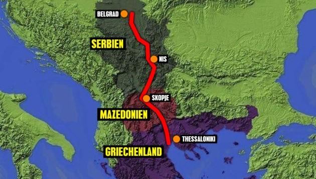 Mega-Kanal soll Donau mit Mittelmeer verbinden