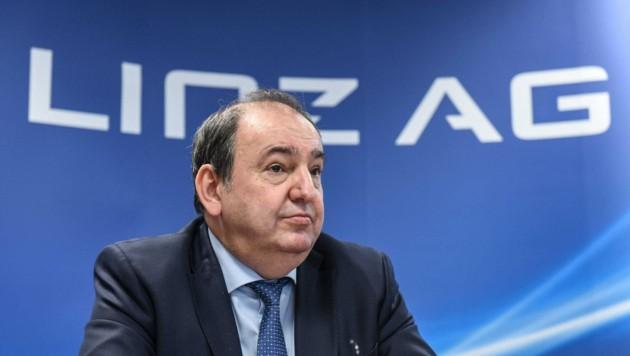 Linz AG-Generaldirektor Erich Haider.