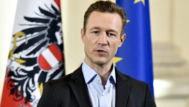 Gernot Blümel (Bild: APA/HERBERT NEUBAUER)