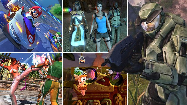 (Bild: Bandai Namco, Microsoft, Nintendo, Square Enix, Team 17)