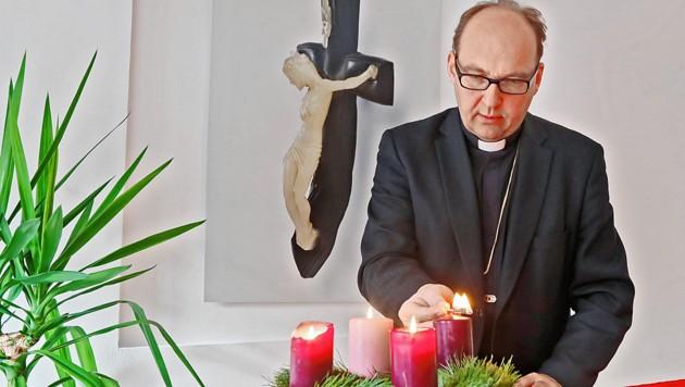 Bischof Hermann Glettler (Bild: Christof Birbaumer)