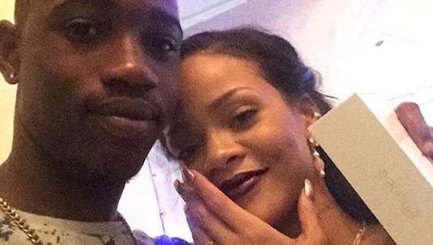 Rihanna mit ihrem Cousin Tavon Kaiseen Alleyne (Bild: instagram.com/badgalriri)
