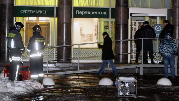 Bombe in St. Petersburg fordert mehrere Verletzte