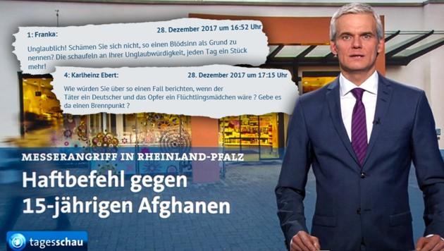 (Bild: ARD Tagesschau, krone.at-Grafik)
